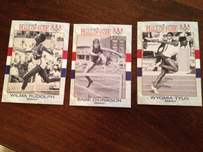 Olympic Female Athlete Cards