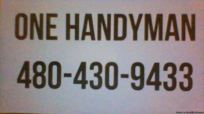ONE HANDYMAN
