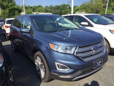2018 Ford Edge Titanium (blue)