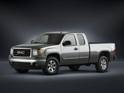 2007 GMC Sierra 1500 Work Truck (Onyx Black)
