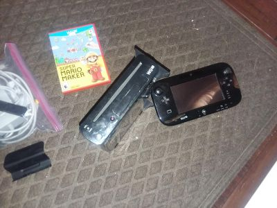 Wii u& GAME pad with games
