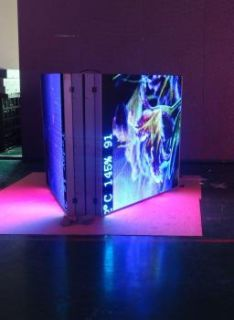 $13,800, New, 10mm 4-3h x 9-0w Double Sided Programmable LED Sign
