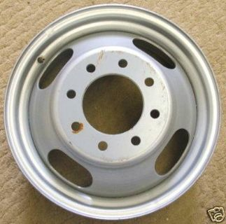 16 Chevy Dually Steel Wheels (Odessa)