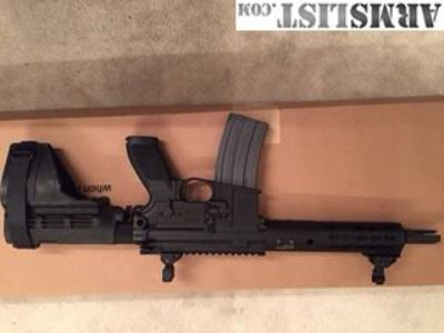 For Sale: SIM PM400 Elite 300 blk AR Pistol +Ammo