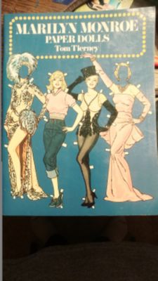 Vintage Complete 1979 Marilyn Monroe Paper Dolls Tom Tierney 1st Edition
