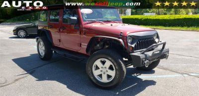 2012 Jeep Wrangler Unlimited Sport (Flame Red)