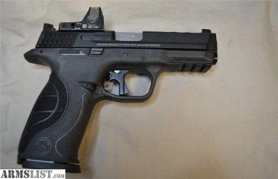 For Sale: CLEAN USED SMITH & WESSON M&P9 PC W/RMR 9MM 4.25