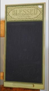 """Blessed Chalkboard with Important """"Suggestion"""""""