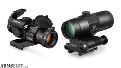 For Sale/Trade: Vortex Strikefire 2 & 3x magnifier