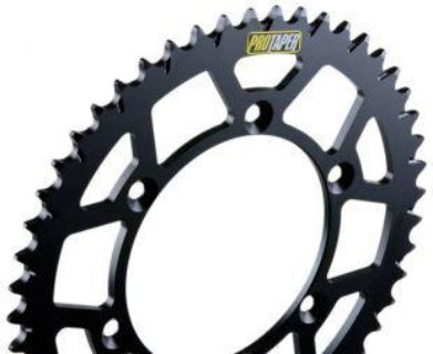 Buy PRO TAPER BLACK 48 TOOTH REAR SPROCKET RM125 DRZ250 DRZ400 RMZ450 RM250 DR250 motorcycle in Maumee, Ohio, US, for US $54.99