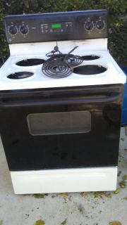 "GE ""Top Of The Line"" Electric Stove"