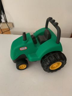 Little tikes green small play tractor