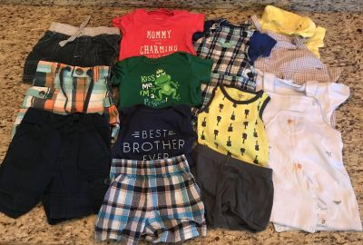 Lot of 15 size 3 or 3-6 month clothes