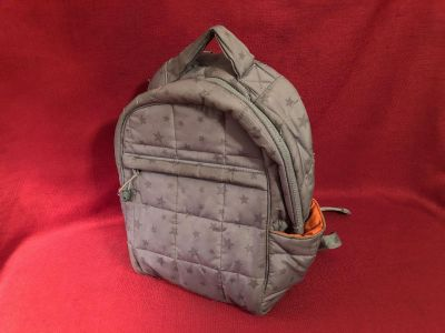Vision Quilted Backpack. Excellent Used Condition
