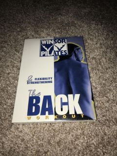 New in plastic The Back workout dvd Windsor Pilates