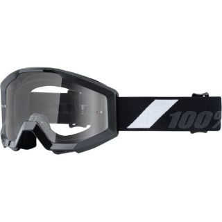 Buy 100% Strata Jr Goliath Clear Youth Motocross Off Road Dirt Bike Goggles motorcycle in Manitowoc, Wisconsin, United States, for US $25.00