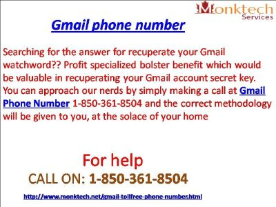Oversee your tough Gmail account with Gmail signal 1-850-361-8504