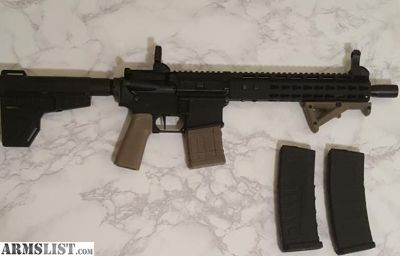 For Sale: AR 15 10.5 inch Pistol