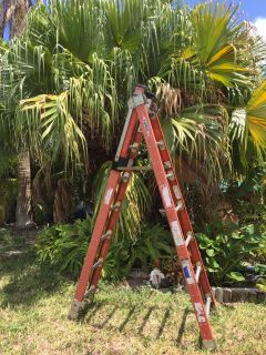 14ft Fiberglass Combination Multi-position Ladder