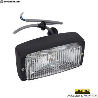 Fog Light, Black, 911/Carrera/930 (74-83)