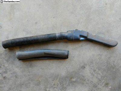 Air intake snorkle, pipe and insulation (oem)