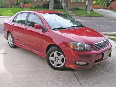 2005 Toyota Corolla S 5-speed - 33 MPG Avg