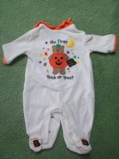 Baby's First Halloween Outfit (Size 0-3 mos.)