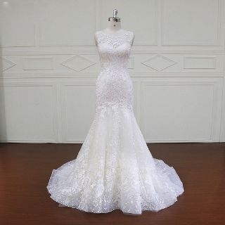 Maria's Mermaid Lace Wedding Gown