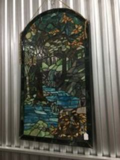 Antique Colored Stained Glass