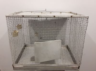 Metal Pet Cage - 16 x 21.5 x 18 inches high
