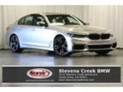 Used 2019 BMW 5 Series Rhodonite Silver Metallic, 4.12K miles