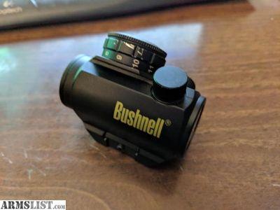For Sale: Bushnell TRS-25 red dot