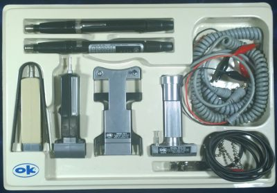 OK MACHINE AND TOOL CO. - DIGITAL LOGIC PROBE PRB-1 AND PULSER PLS-1 KIT