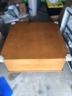 FREE! 38 square coffee table