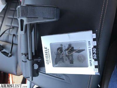 For Sale/Trade: PDW brace/Geissele AR15 trigger