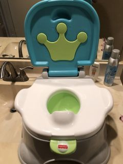Fisher price potty and step stool