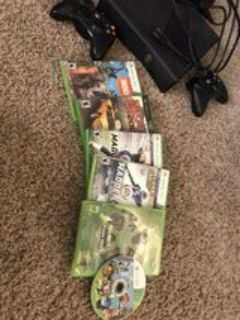 Xbox 360 and great games included