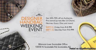 Designer Handbag Weekend Event