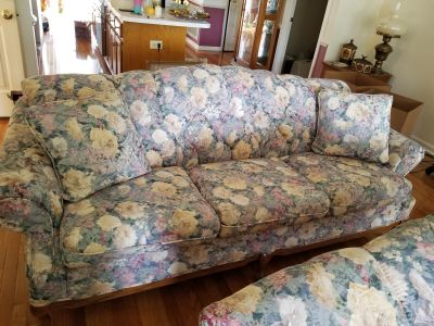 Couch love seat, Chair