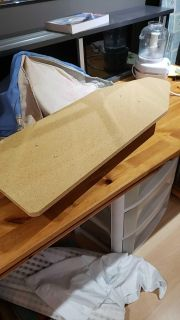 Old (vintage? Antique?)mini ironing board.