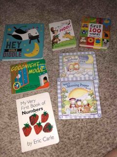 Baby/ Toddler Board Books