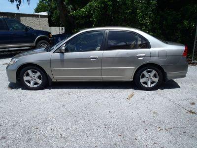 2004 Honda Civic EX (Gold)
