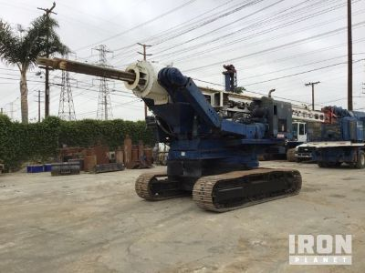 Reedrill 800T-90DD Crawler Mounted Foundation Drill