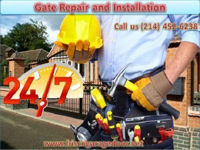 24/7 Residential Automatic Gate Repair ($25.95) Frisco Dallas, 75034 TX