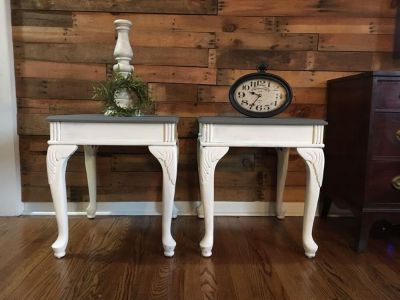 Farmhouse night stands/ end tables
