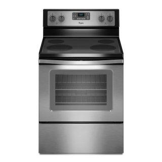 Whirlpool Smooth Surface Freestanding Self-cleaning Electric Range stainless Brand NEW