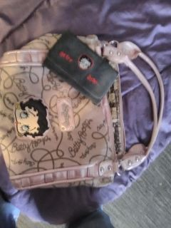 Betty Boop bag with tags