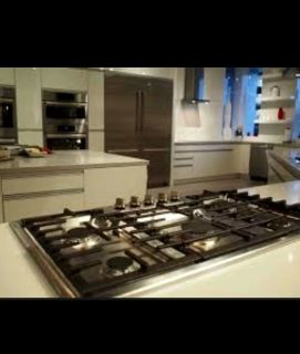 New..Bosch 800 Series 5-Burner Gas Natural & propane..Cooktop (Stainless Steel) (Common: 30.. $430..(faucet $80.sink.$70..everyting. .$500..
