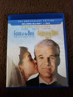 Father of the Bride & Father of the Bride Part II Blu-Ray and DVD