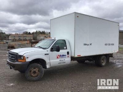 2000 Ford F-450 Super Duty Cargo Truck